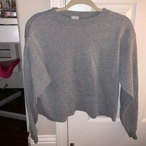 Brandy Melville Gray Crew Neck